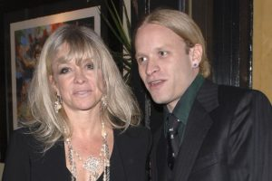 Jamie Wood with his mother, Jo